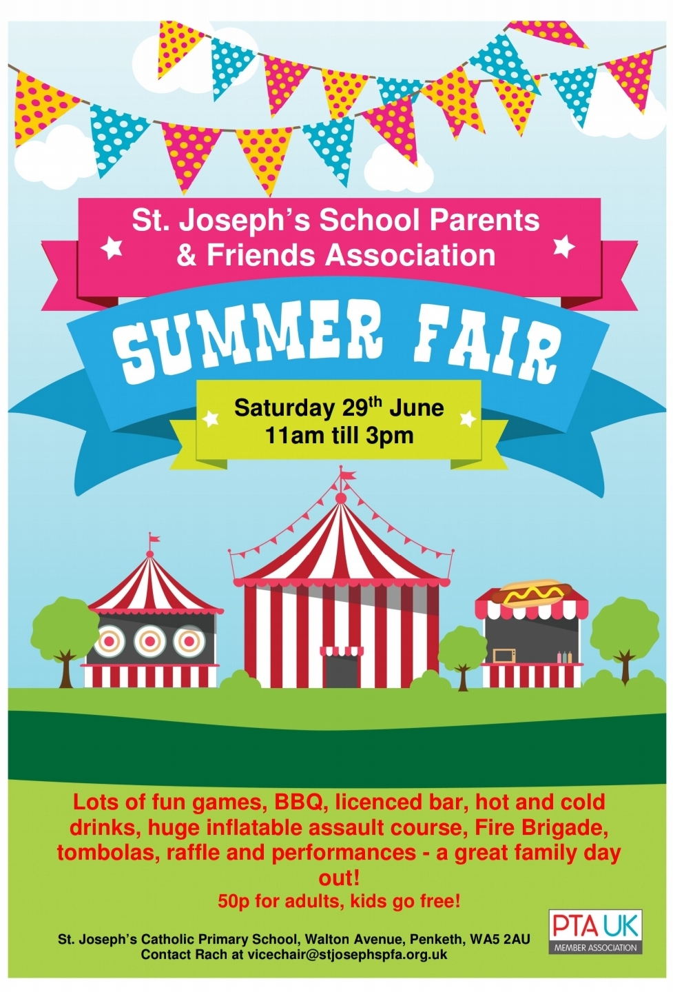 St. Joseph's Primary Parents & Friends Summer Fayre