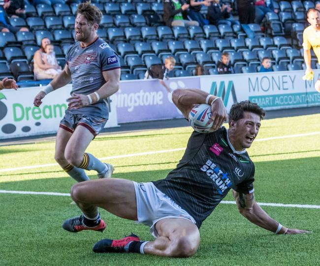 Anthony Gelling. Big match experience and strike could be viital. Pic: Richard Walker