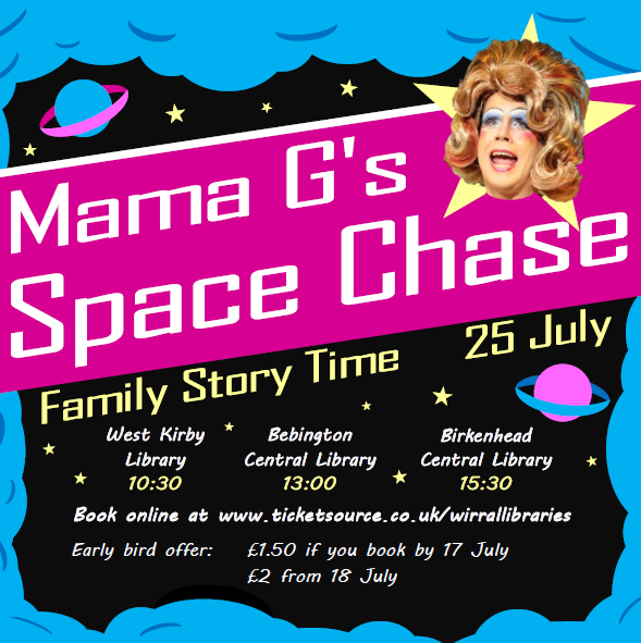 Mama G space Chase family storytime
