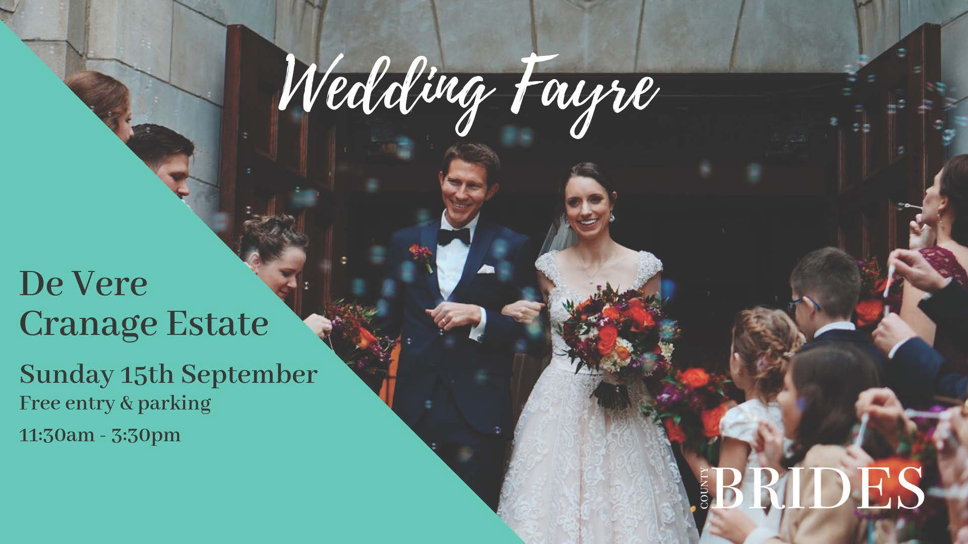De Vere Cranage Estate Wedding Fayre