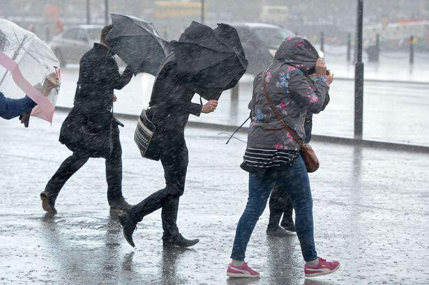 Rain, rain,  and more rain - and thundery showers could follow