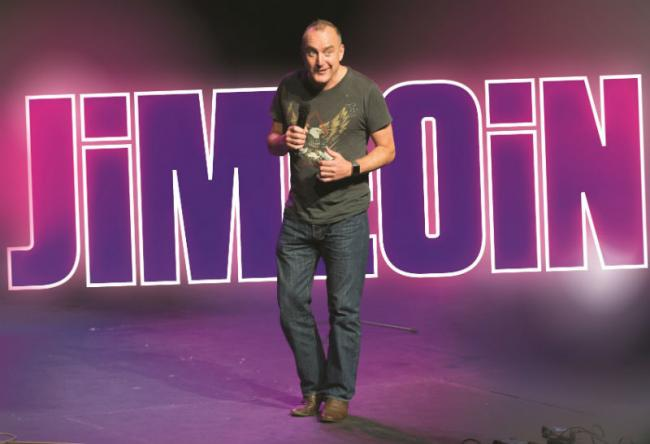 Jimeoin is at The Brindley Theatre, Runcorn on Wednesday October 16. Picture: Wullie Marr.