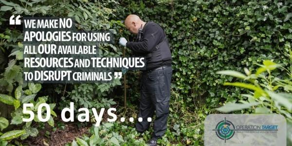 This week marks 50 days since the start of Operation Target to tackle serious and violent crime on Merseyside streets
