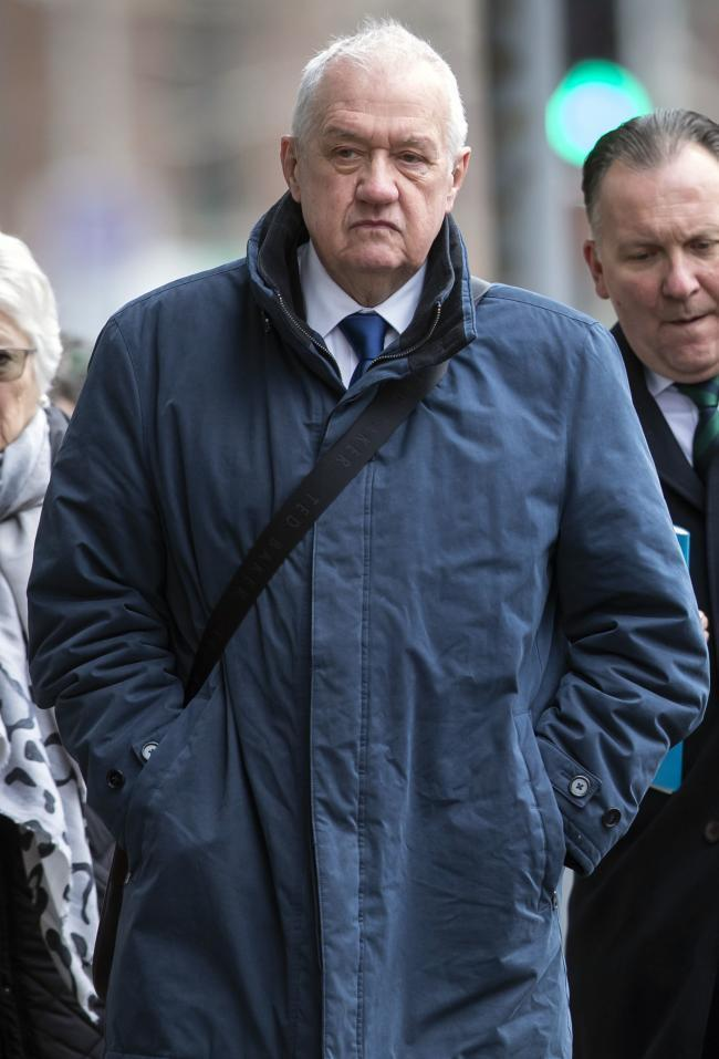 Hillsborough match commander David Duckenfield who will face a retrial over the gross negligence manslaughter of 95 Liverpool fans, at Preston Crown Court (Danny Lawson/PA Wire)