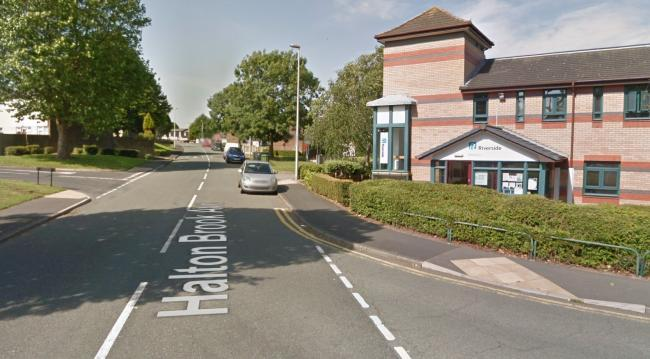Man, 62, 'critical but stable' with serious injuries after being hit by car on Halton Brook Avenue near to the Ricerside Housing Association building (Google Maps)