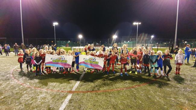 Widnes-based Pex Hill Junior Football Club is on the hunt for the next generation of female players after receiving a £4,500 Grow the Game grant. Picture: Simon Boyd