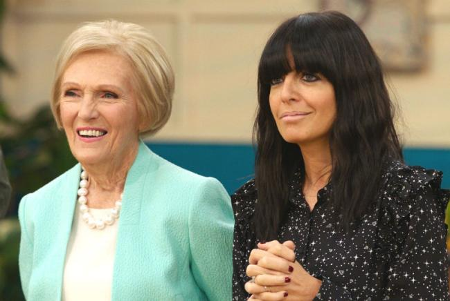 Mary Berry and Claudia Winkleman during last series of 'Britain's Best Home Cook'