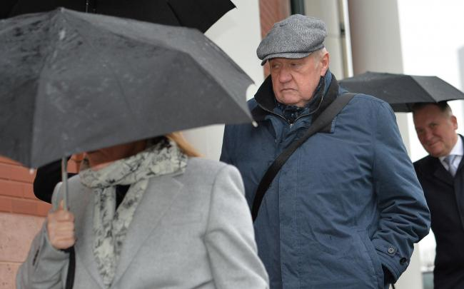 Hillsborough match commander David Duckenfield, who is accused of the manslaughter by gross negligence of 95 Liverpool supporters at the 1989 FA Cup semi-final, arriving at Preston Crown Court. (Picture: Peter Powell/PA Wire)