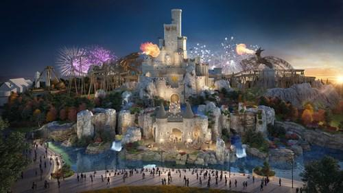 First look at UK theme park The London Resort set to rival Disneyland. Credit: The London Resort