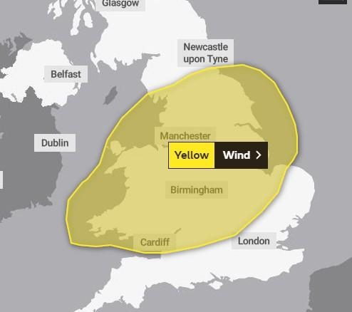 Runcorn and Widnes World: Met Office