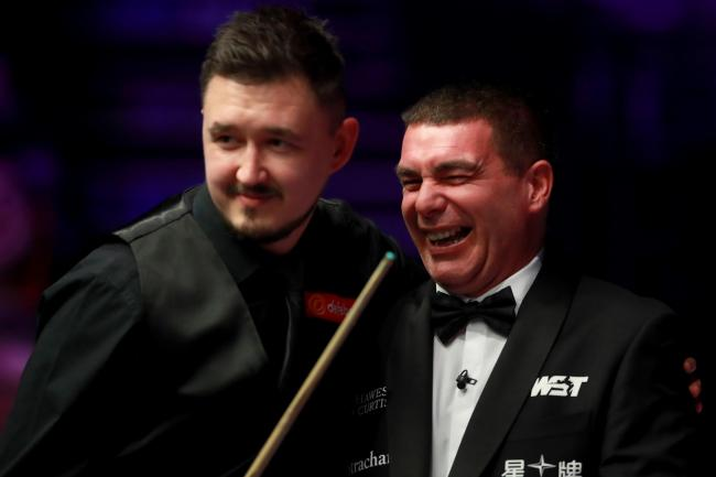 Ben Williams was stung during Kyren Wilson's match at the Masters