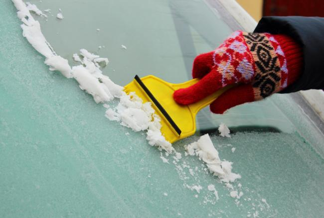HACKS: Quick ways to de-ice your car. Picture: Getty Images.