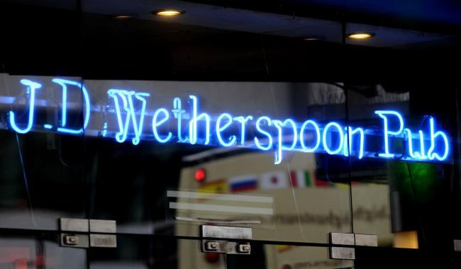 Wetherspoon pubs tell parents with children they can only have two drinks