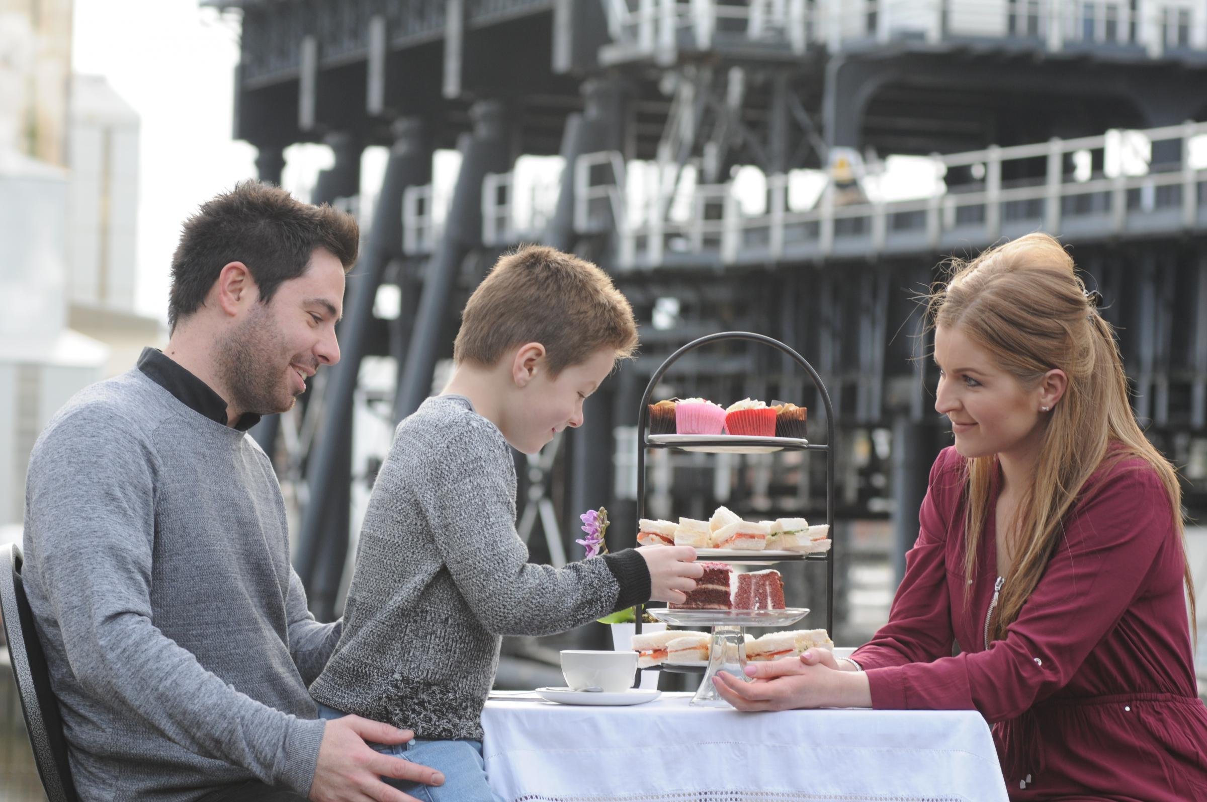 Afternoon Tea and Boat Trip at Anderton Boat Lift