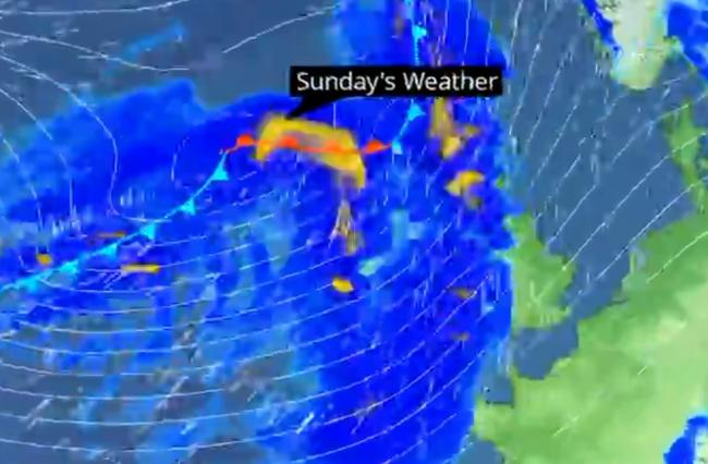 Storm Ciara set to batter us this weekend with 60mph winds