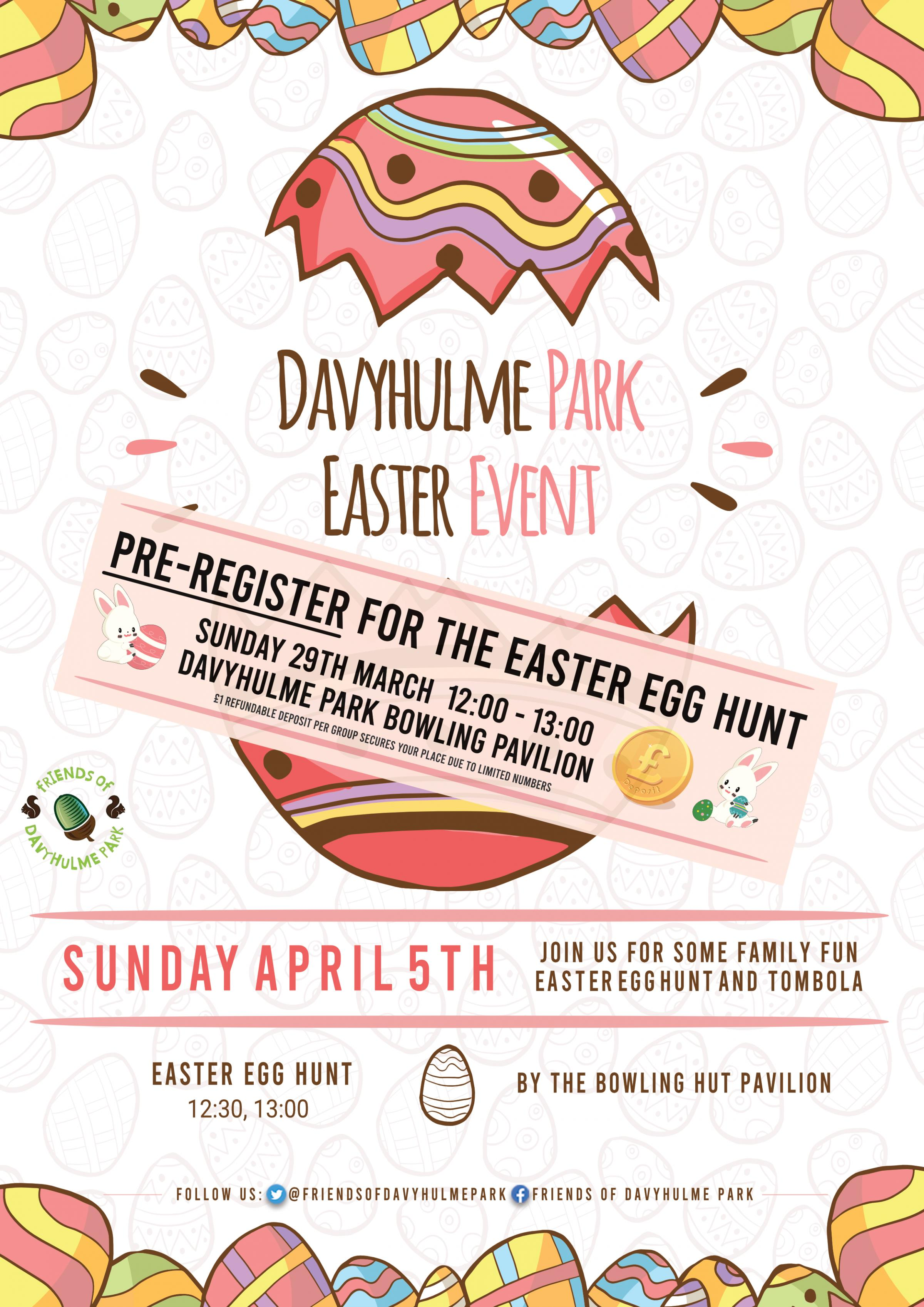 Easter Event - Easter egg Hunt, raffle and Tombola