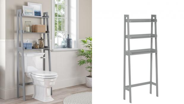 Runcorn and Widnes World: Over-the-toilet units provide a lot more storage space. Credit: Wayfair