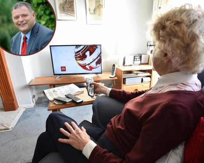 Weaver Vale MP Mike Amesbury has branded the Government's refusal to fund TV licences for the over 75s as 'a disgrace' (Credit: Nick Ansell/PA Wire)