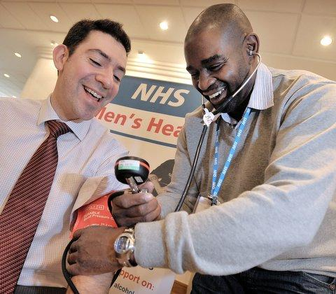 Free health checks are being offered for men over the age of 18 across Halton