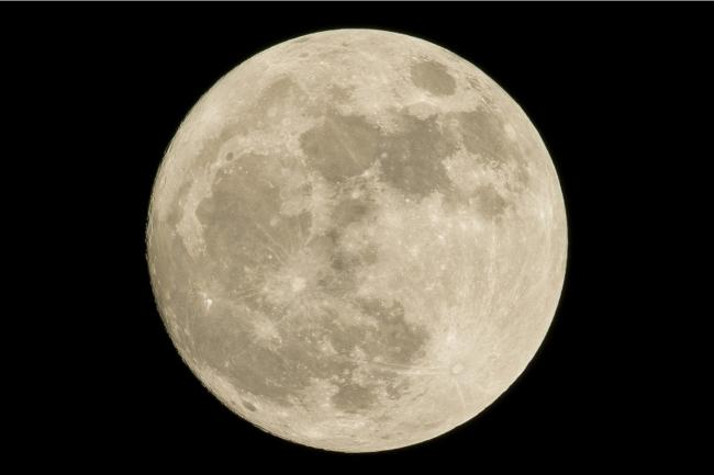 October Harvest Moon: What time can you see it in the skies above the UK? Picture: Pixabay