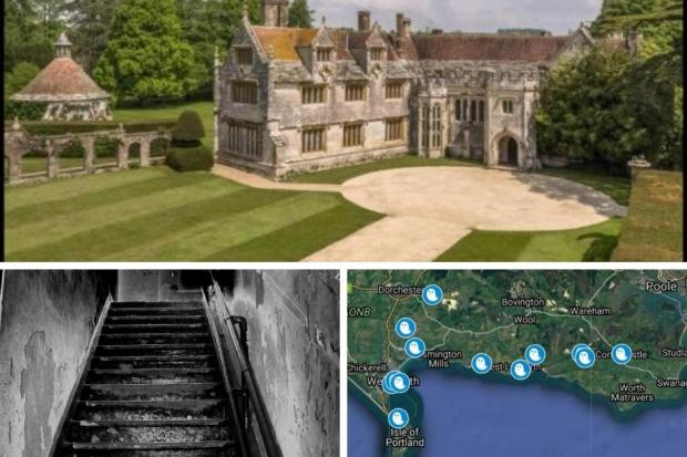 From Athelhampton House to Weymouth Promenade, Dorset has its fair share of haunted places. (Image: BNPS/Stock/Google)