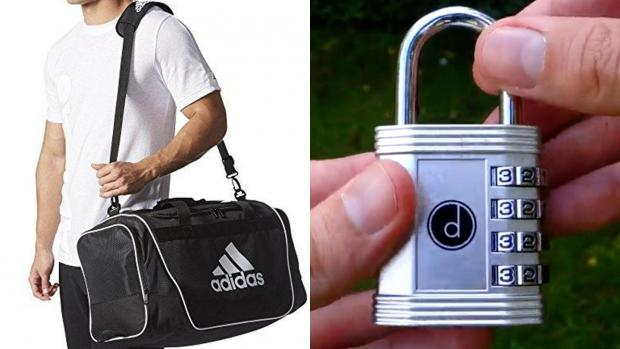 Runcorn and Widnes World: Best health and fitness gifts 2020: Adidas Lin Duffel Bag & Desired Tools 4 Digit Combination Padlock Credit: Adidas & Desired Tools