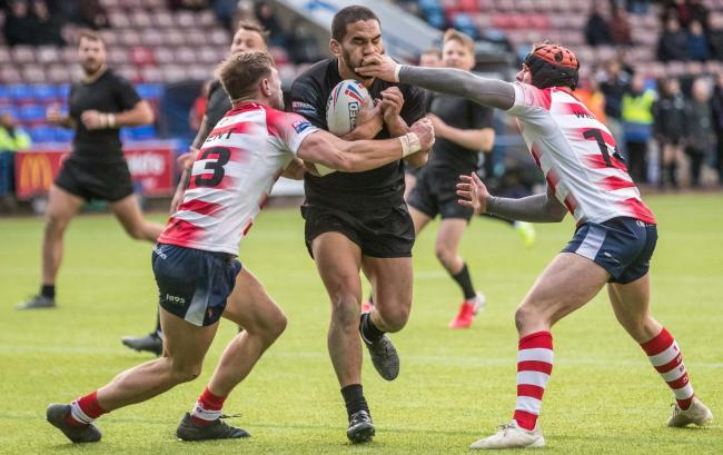 Widnes Vikings against Oldham in last year's Challenge Cup competition. Picture: Richard Walker