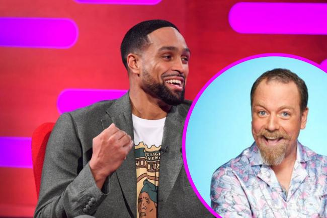 Dancing on Ice judge Ashley Banjo defends Rufus Hound following Ofcom complaints. (PA/Canva)