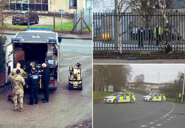 Bomb disposal unit called to UK Covid vaccine plant.