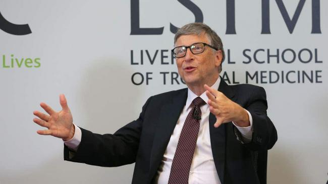 Bill Gates breaks silence over 'crazy' Covid conspiracy theorists. (PA)