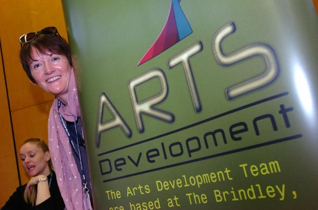 Halton Council's arts team leader, Claire Bigley, says working with Fallen Angels has been a positive experience.