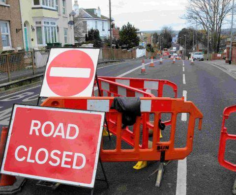 Motorists should be aware of the road closures.