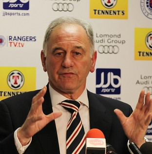 Charles Green has supported the decision to place Rangers in the Scottish Third Division