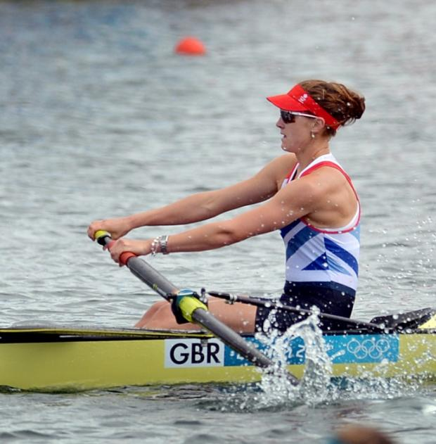 Olivia Whitlam competitng on Lake Dorney earlier this week. Picture: Jessica Mann