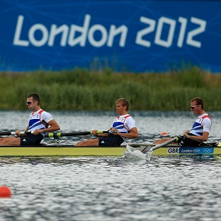 The GB quartet are hoping for gold in the lightweight men's four final