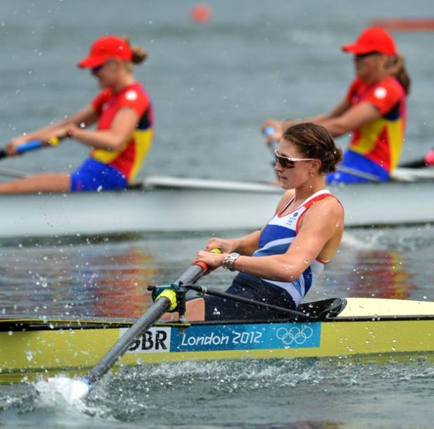 Olivia Whitlam racing in the final. Picture by Jessica Mann