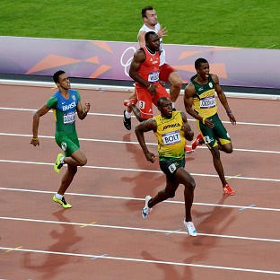 Usain Bolt is through to the final of the 200m