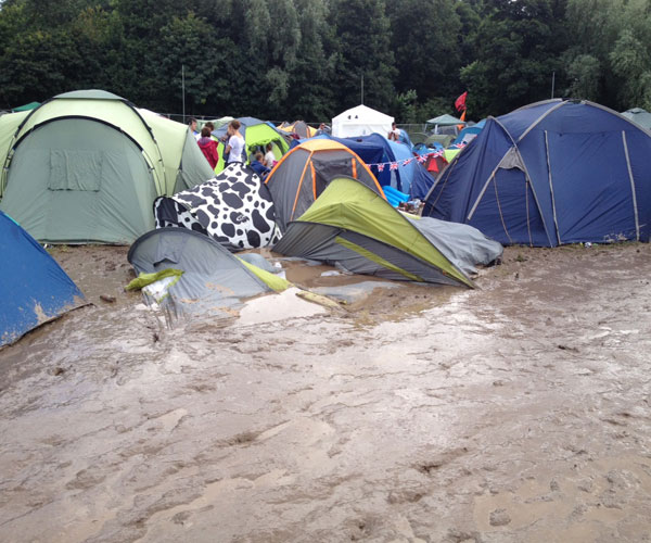 Creamfields cancelled due to floods