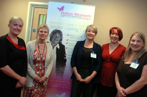 From left, Dawn Steele, Pam Arnold, Estelle Rowe, Nicola Holland and Maddy Templeman