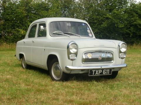 Ian Trimble's grey Ford Prefect