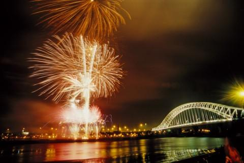 Fireworks will be lauched to the sound of great British music