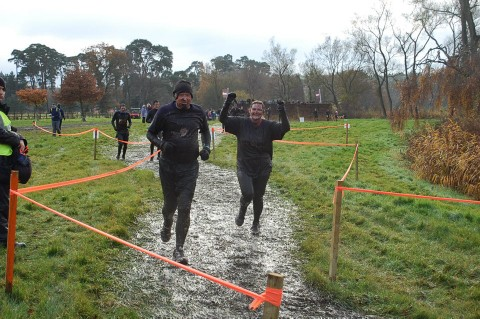 Volunteers brave ice, mud and 10,000 volt shocks for hospice