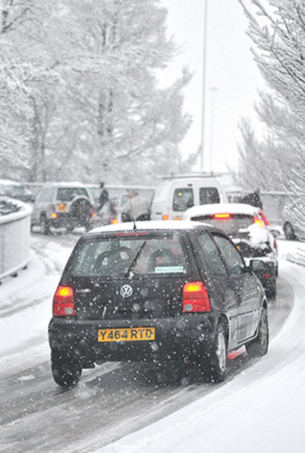 Snow warning for motorists