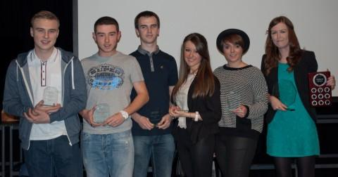 Sam Mullin, Carl Austin, Ryan Cain, Lauren Olivier, Charlotte Lewis and Hannah Oldfield