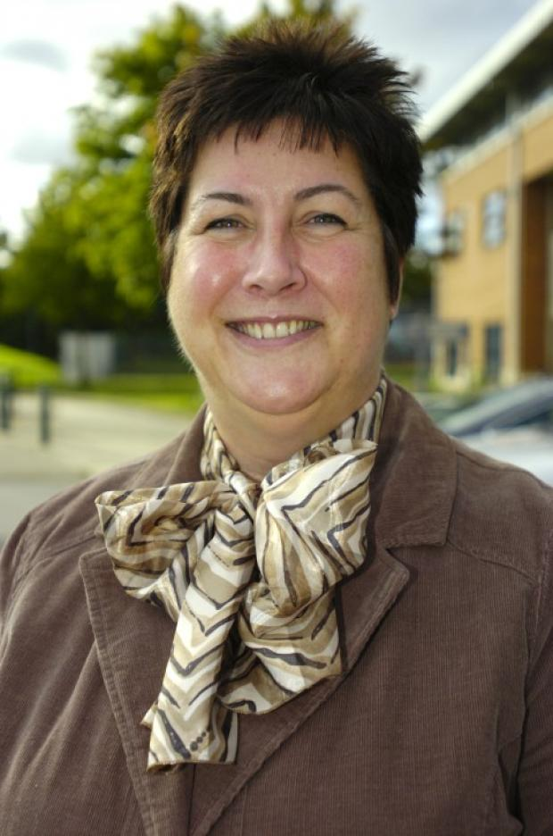 Wendy White, head teacher of SS Peter & Paul Catholic College