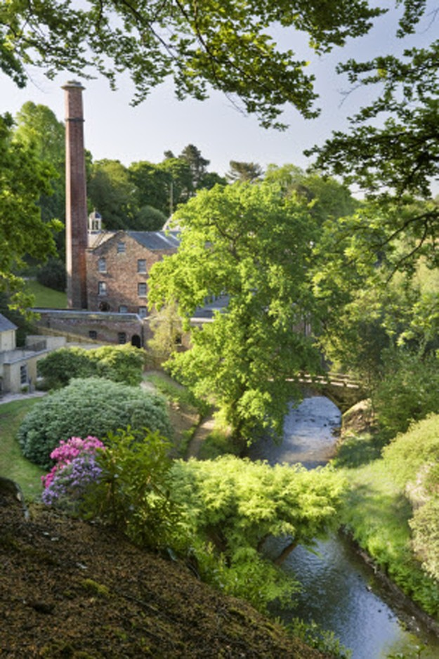 Quarry Bank Mill and its stunning garden.