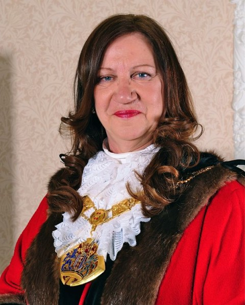 The Mayor of Halton, Clr Margaret Ratcliffe appeals for items for her charity tombola