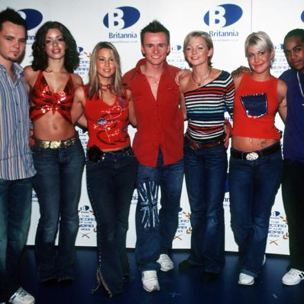 S Club 7 stars Jo and Bradley, on the right, will be coming to Widnes