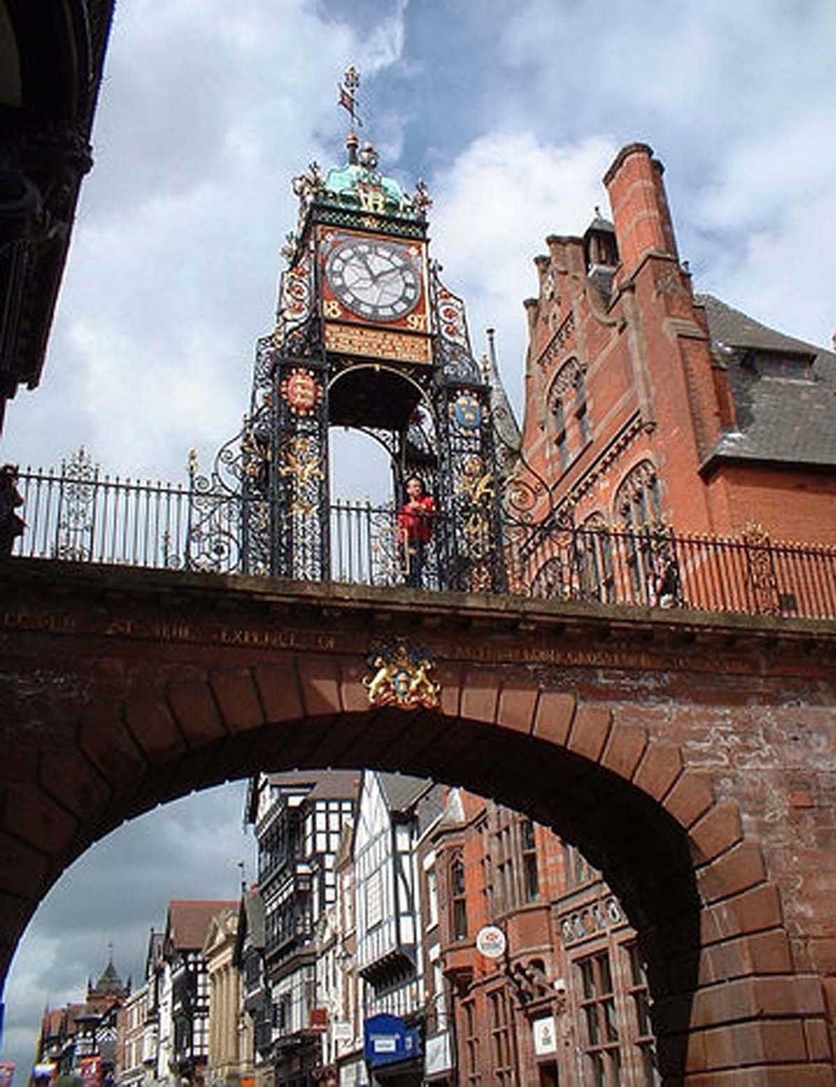 Take a leisurely stroll around Chester's city walls.