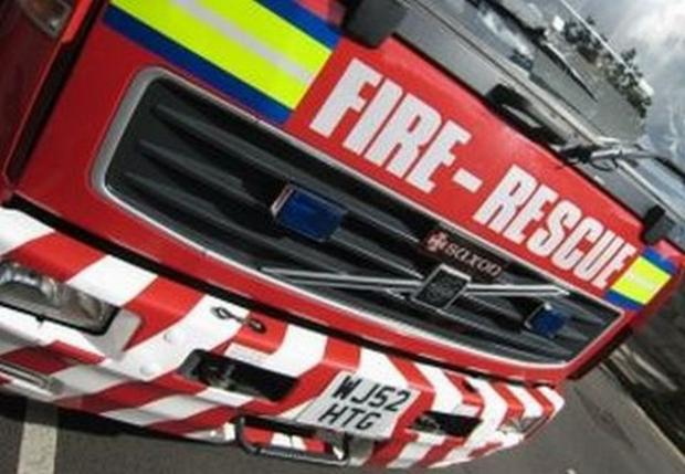 Firefighters tackled arson attack at St Michael's golf course